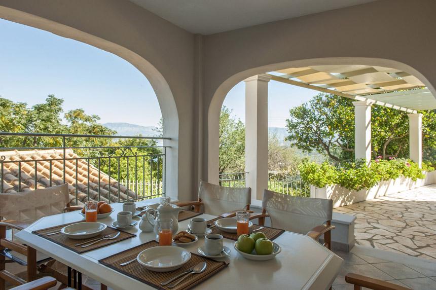 Villa Mylos Balcony