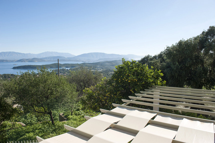 Villa Mylos Balcony View