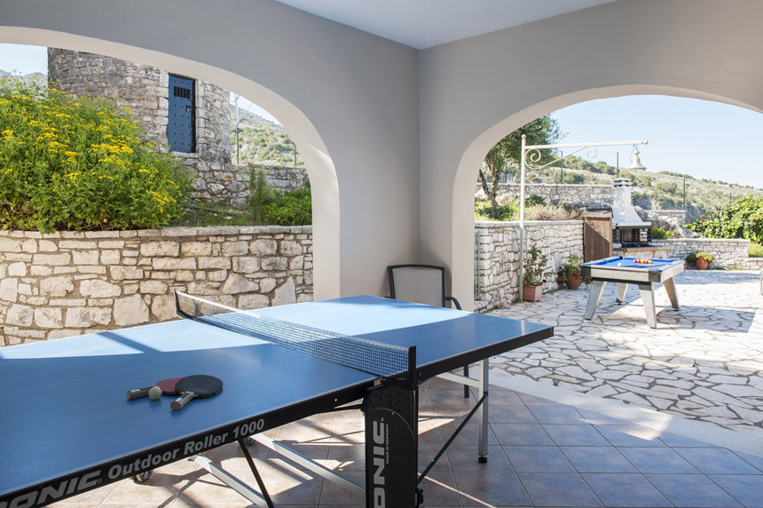 Villa Mylos Ping Pong Table