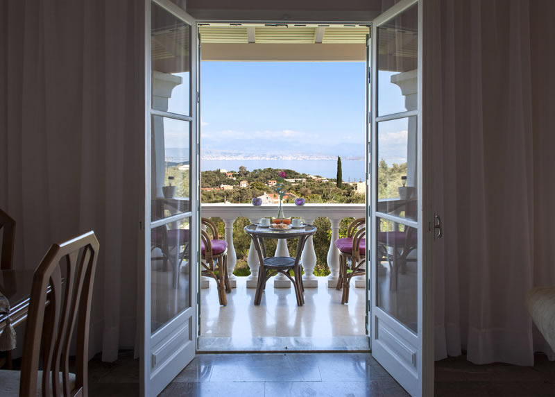 Villa Panagiota Balcony View