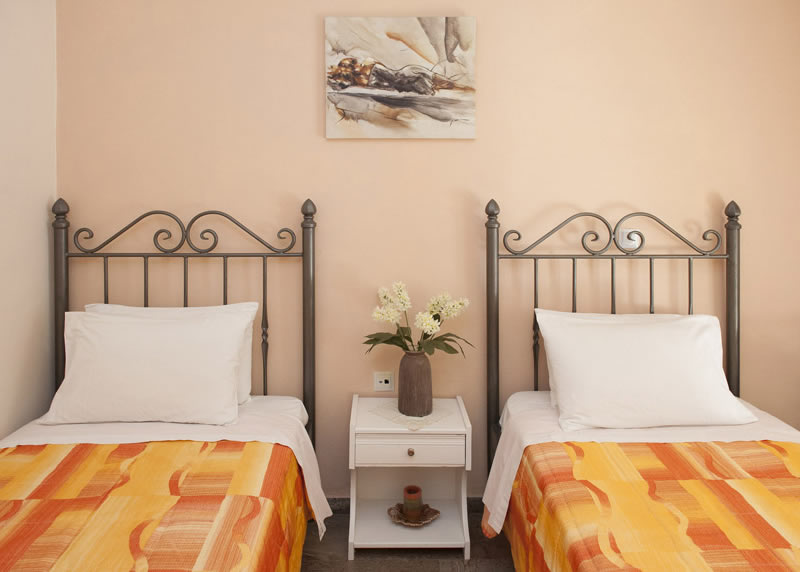 Villa Panagiota Twin Bedroom 2