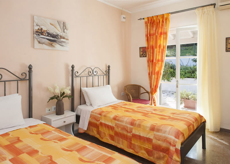 Villa Panagiota Twin Bedroom