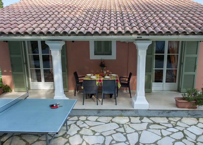 Villa Panagiota Patio & Ping Pong Table
